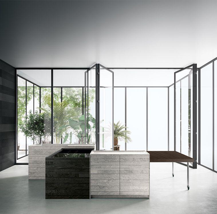 Thinkingabout Boffi Kitchenology Combine Kitchen Piero Lissoni